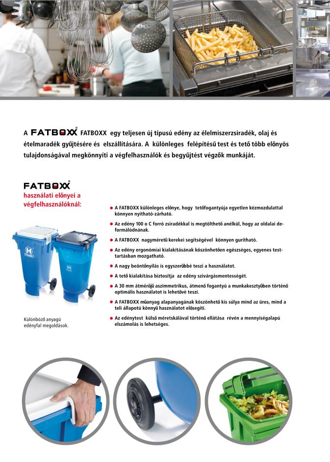 FATBOXX hulladékgyűjtő edény